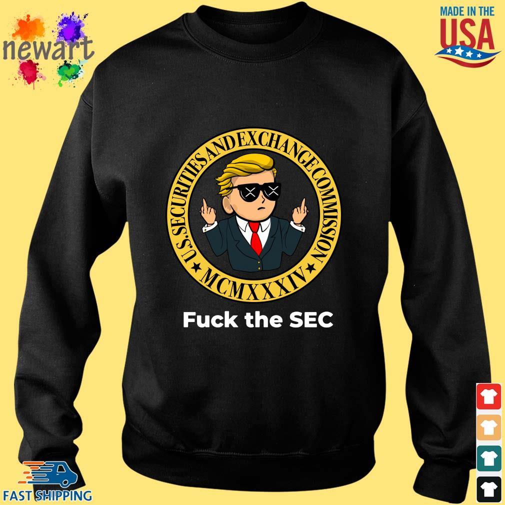 Wall Street Fuck The Sec Shirt Sweater den