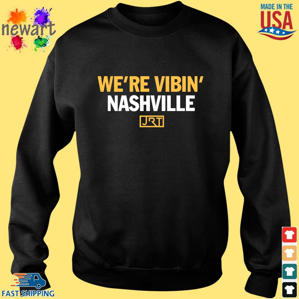 We're Vibin' Nashville JRT Shirt Sweater den