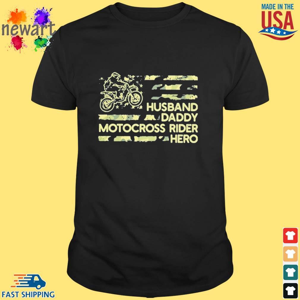 Husban Dady Motocross Rider Hero Shirt