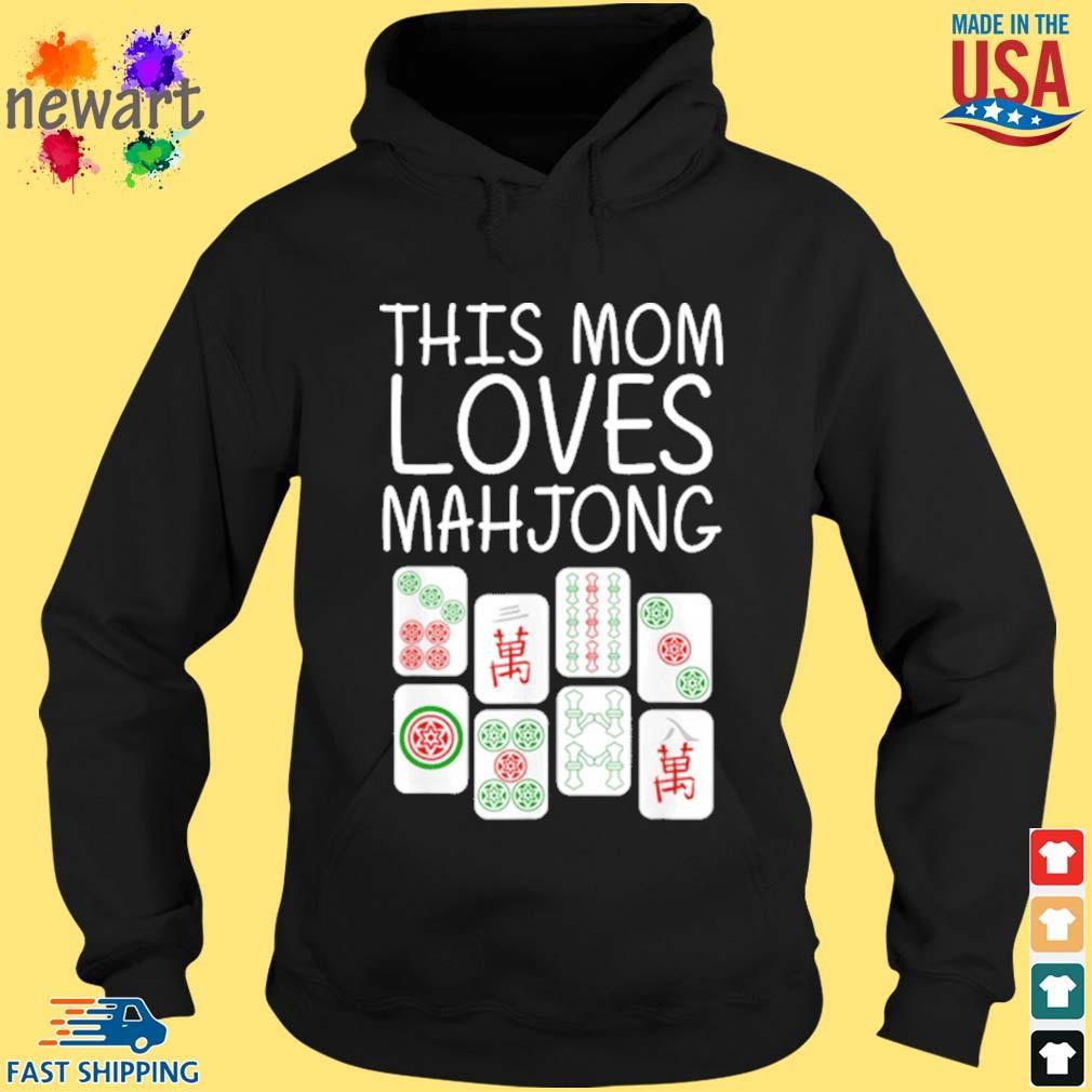 Mahjong Mother Tile Game Lover Players Shirt hoodie den