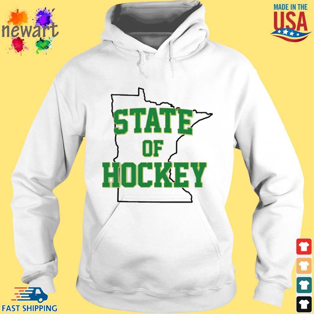 Minnesota State Of Hockey Shirt hoodie trang
