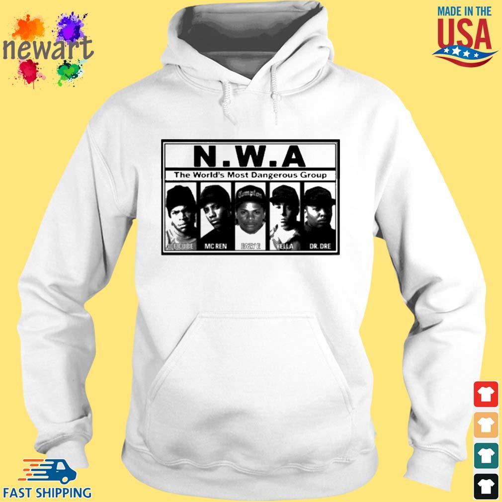 N.W.A The World's Most Dangerous Shirt hoodie trang