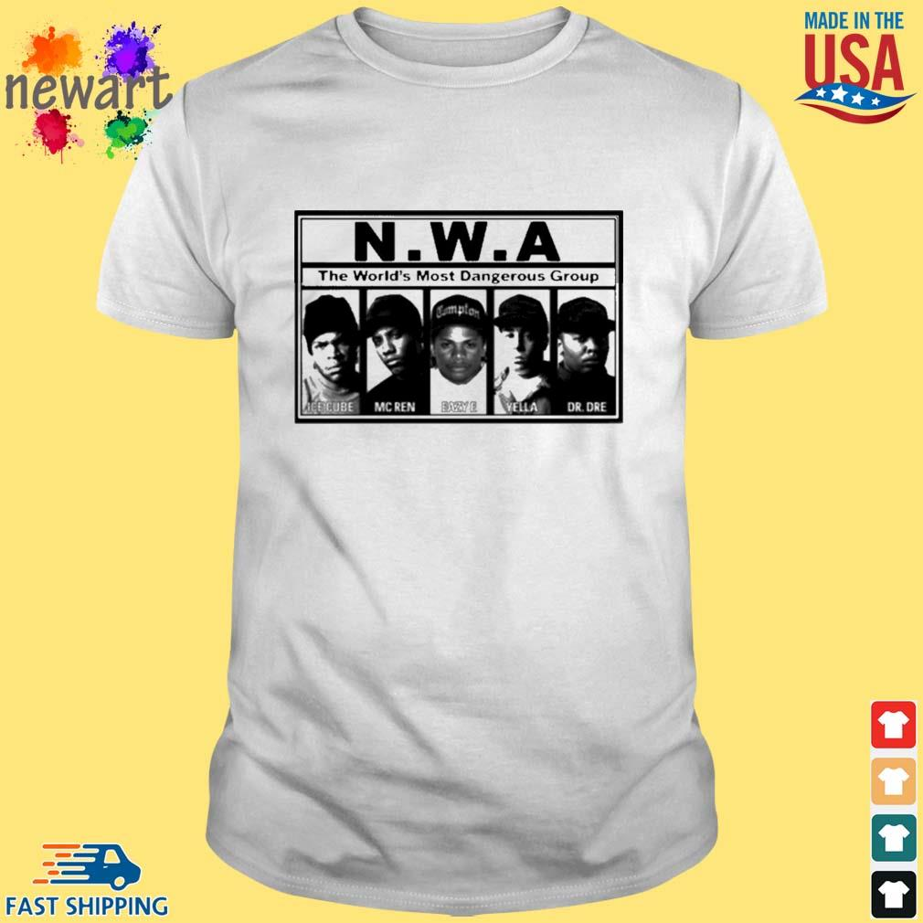 N.W.A The World's Most Dangerous Shirt