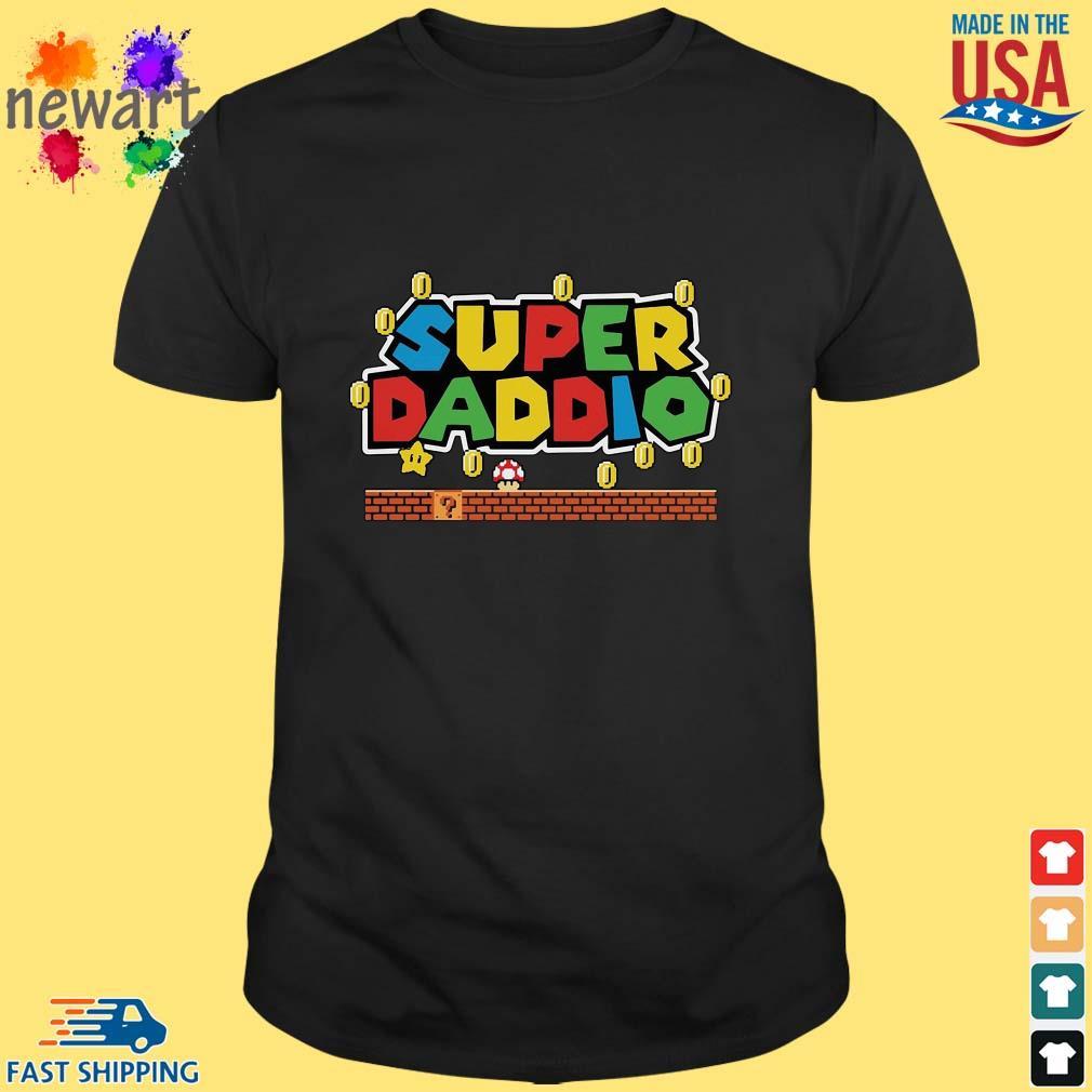 Super Mario Super Daddio Shirt