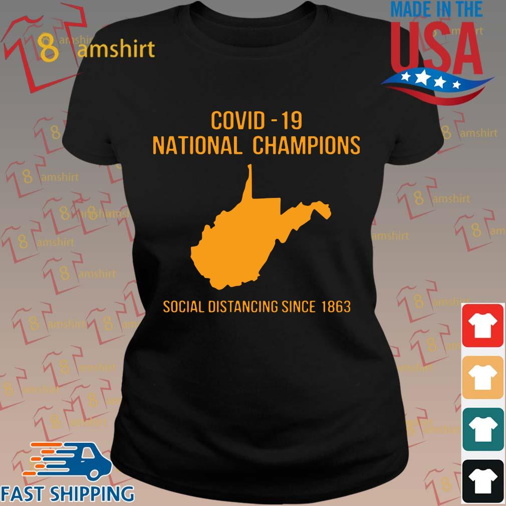 Covid 19 national champions Tee Shirts ladies den