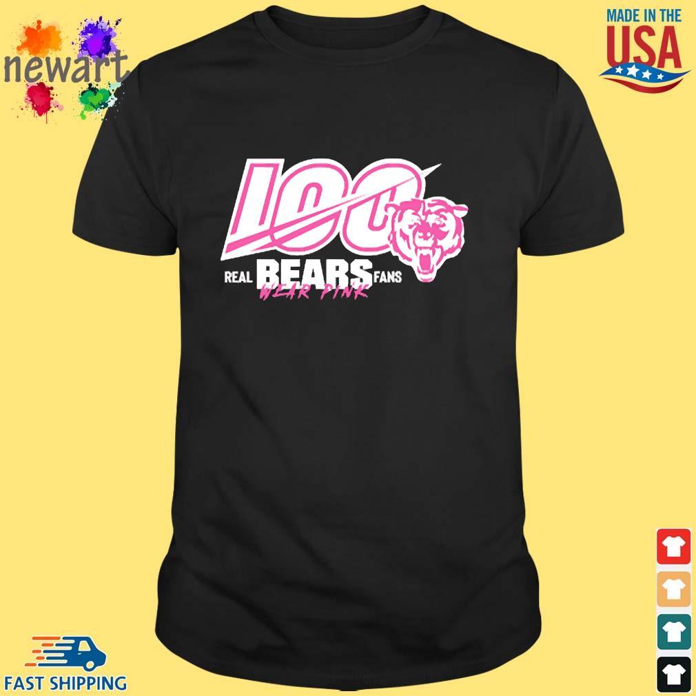 100 Years Of Bears Real Bears Fans Wear Pink Shirt