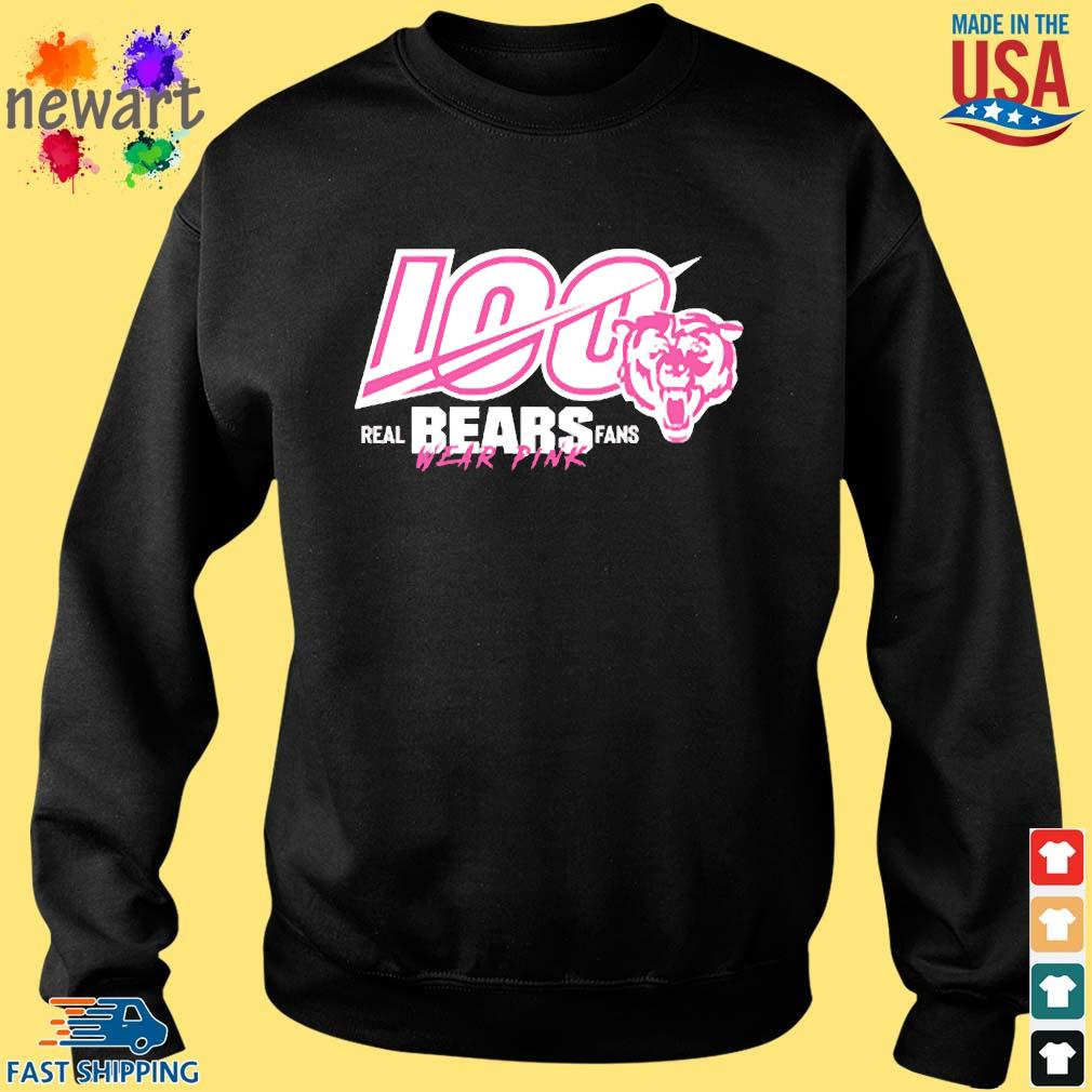 100 Years Of Bears Real Bears Fans Wear Pink Shirt Sweater den