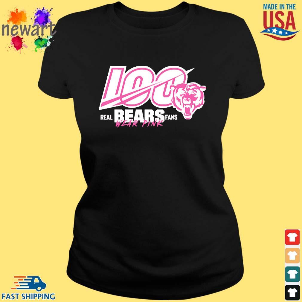 100 Years Of Bears Real Bears Fans Wear Pink Shirt ladies den