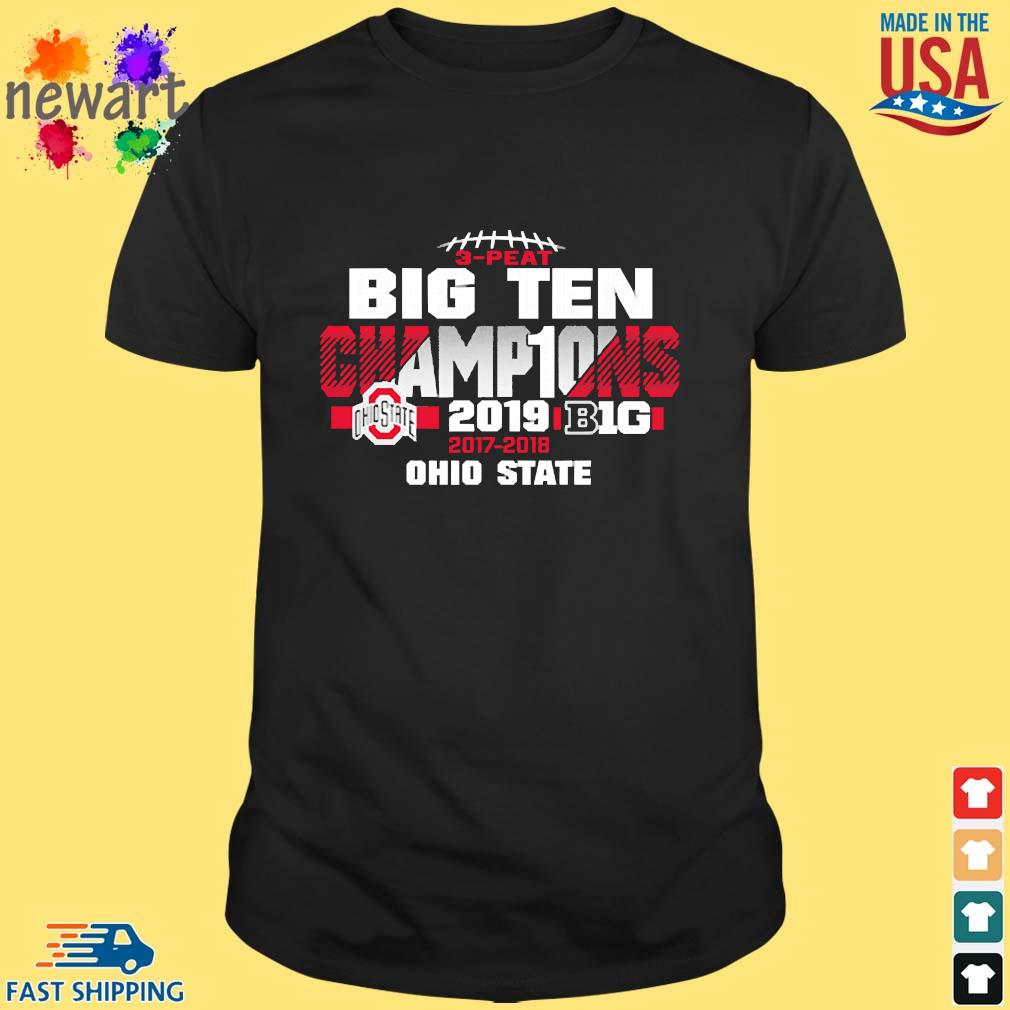2019 Big Ten Football Champions Ohio State Buckeyes shirt