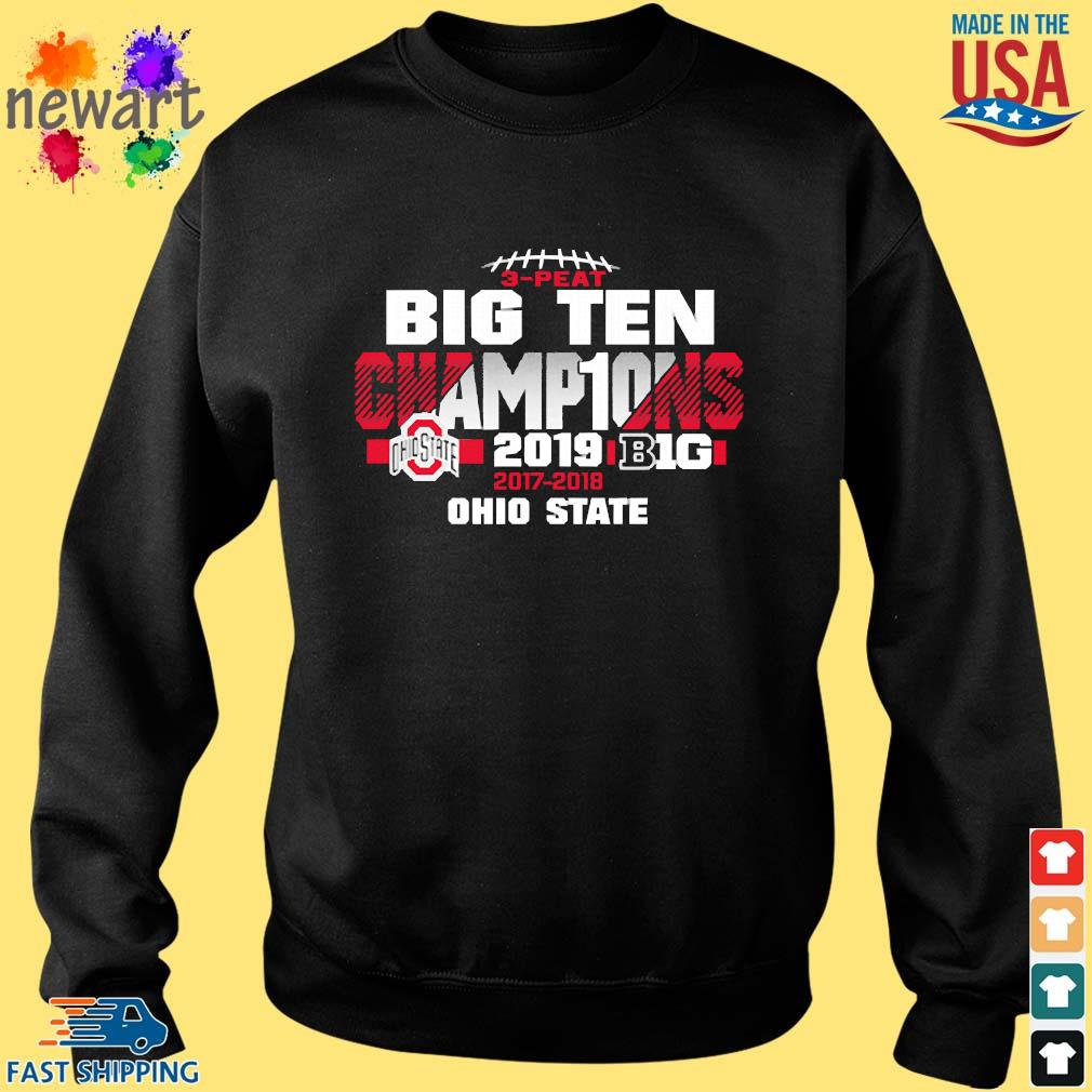 2019 Big Ten Football Champions Ohio State Buckeyes s Sweater den