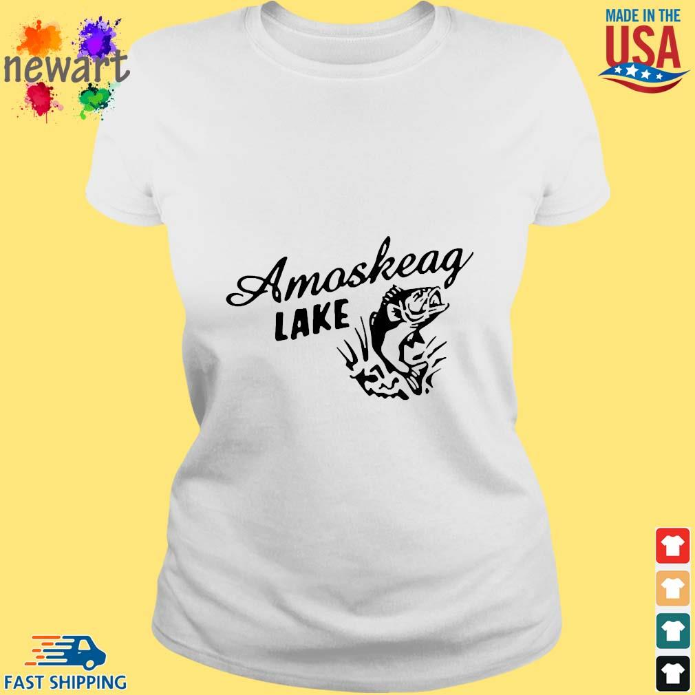 2020 Amoskeag Lake Shirt ladies trang