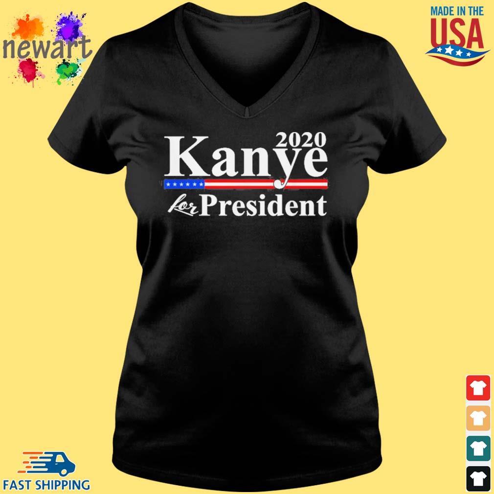 2020 Kanye for president s Vneck den