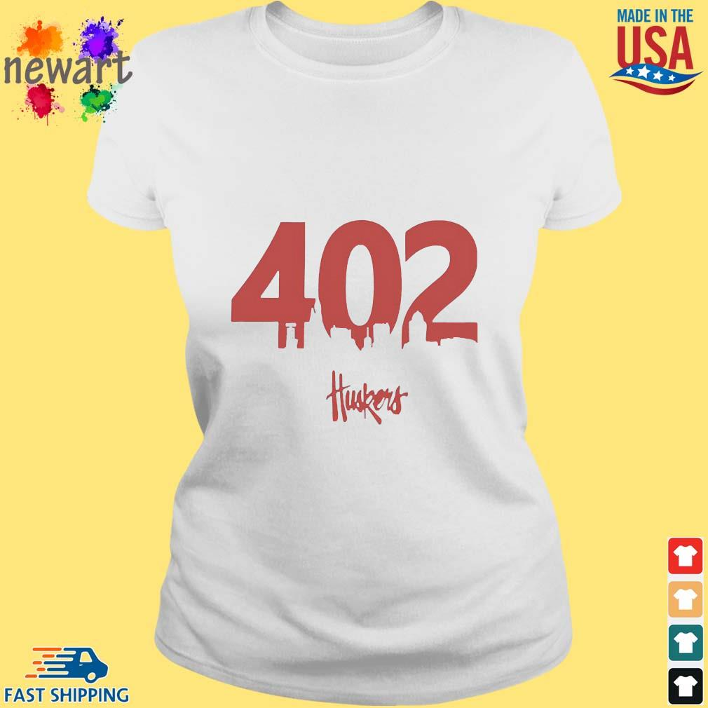 402 Husker Hounds Shirt ladies trang