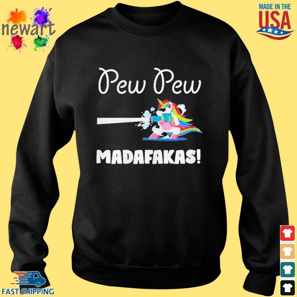Baby unicorn Pew pew madafakas s Sweater den