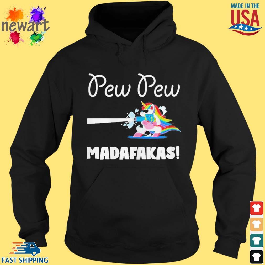 Baby unicorn Pew pew madafakas s hoodie den