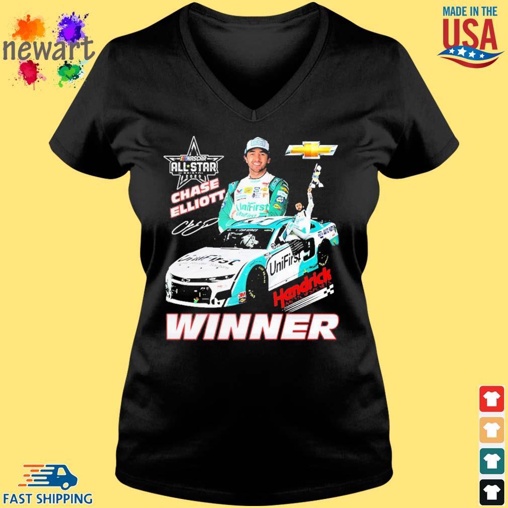 Chase Elliott Hendrick Motorsports Winner Shirt Vneck den