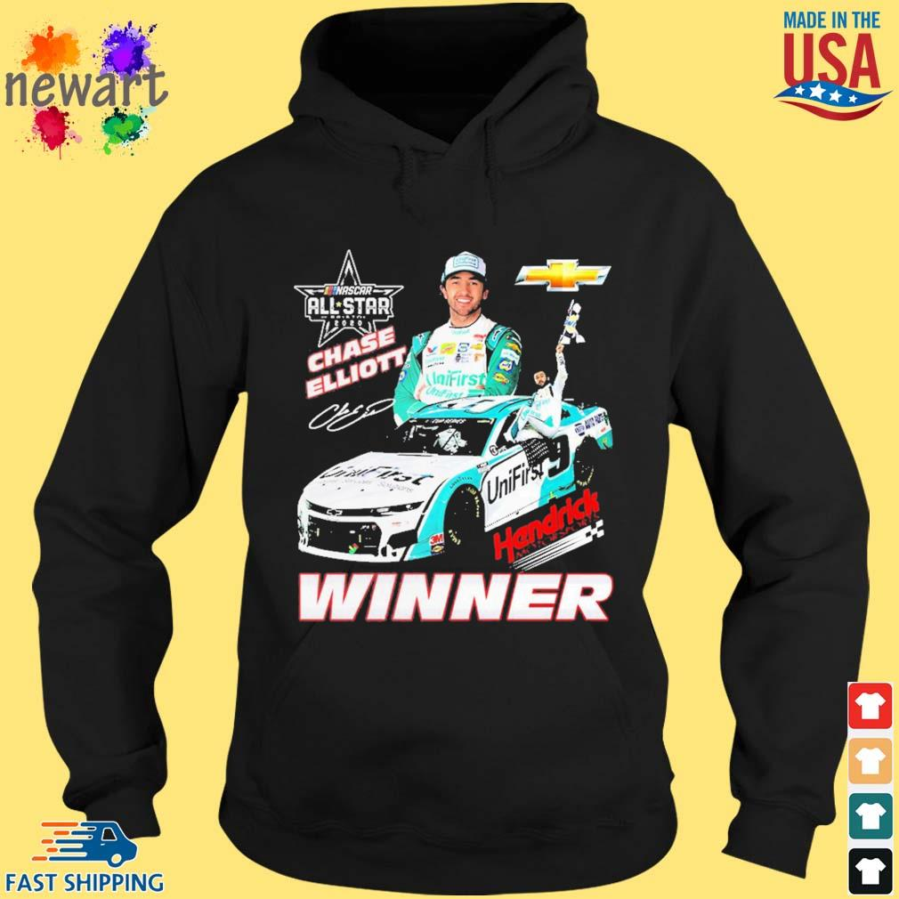 Chase Elliott Hendrick Motorsports Winner Shirt hoodie den