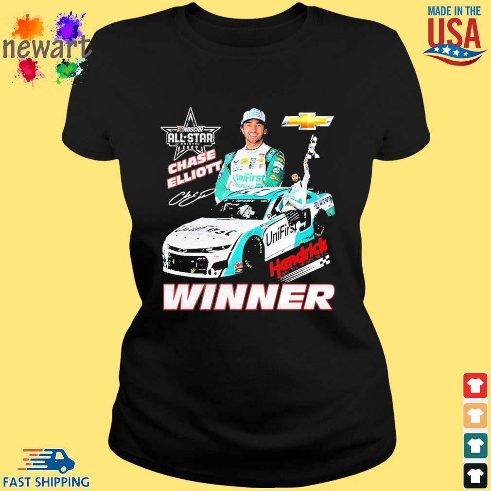 Chase Elliott Hendrick Motorsports Winner Shirt ladies den