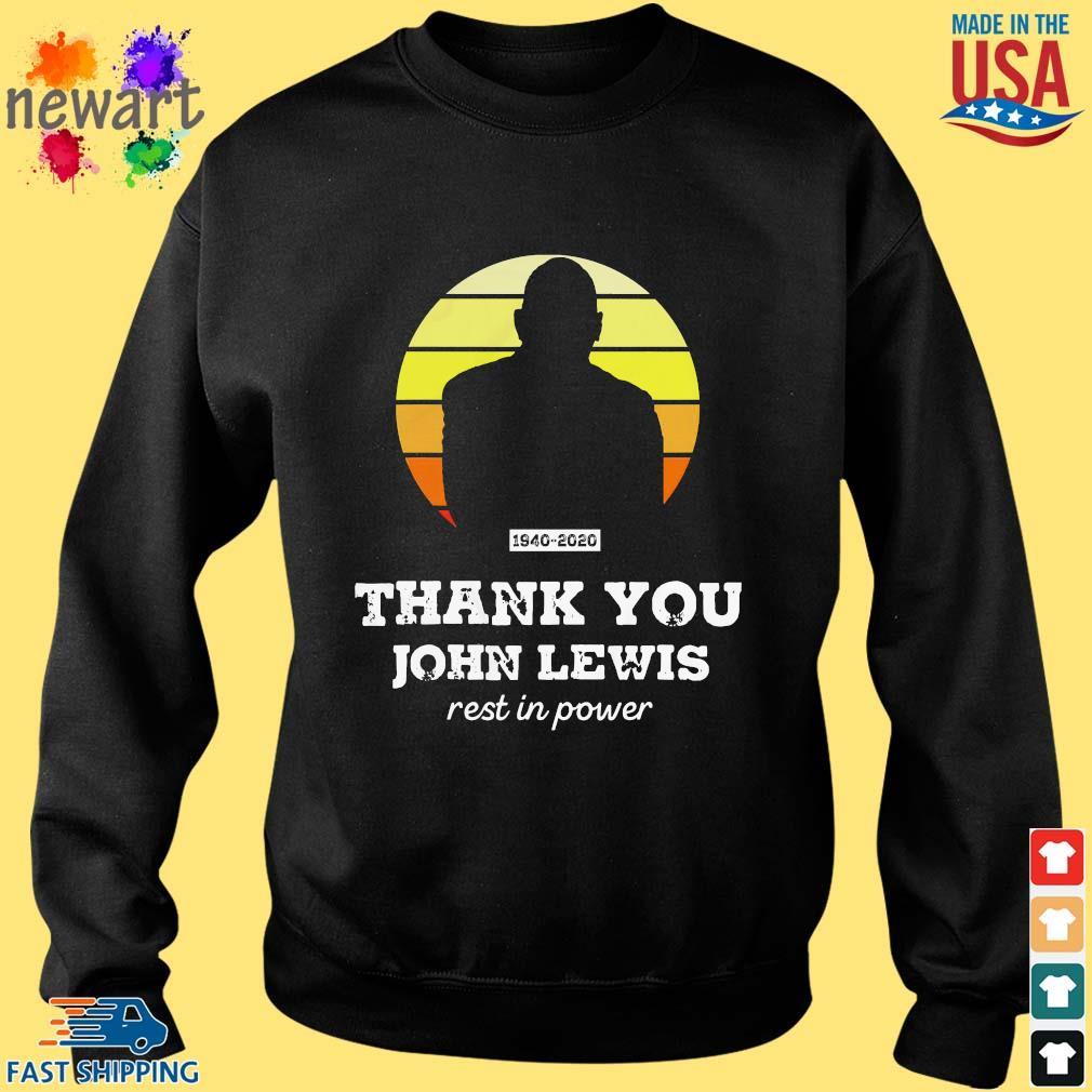 Congressman John Lewis thank you rest in power s Sweater den