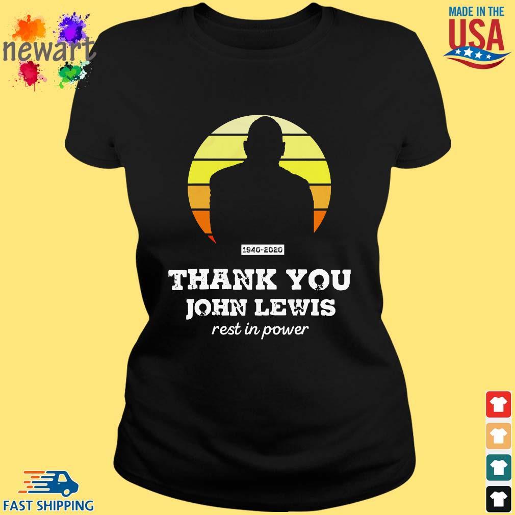 Congressman John Lewis thank you rest in power s ladies den