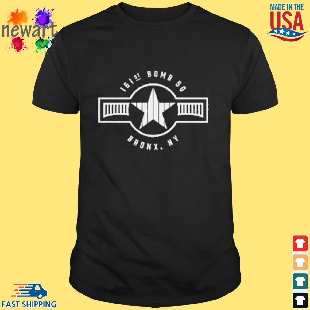 161st Bomb Squadron New York Bronx Baseball Shirt
