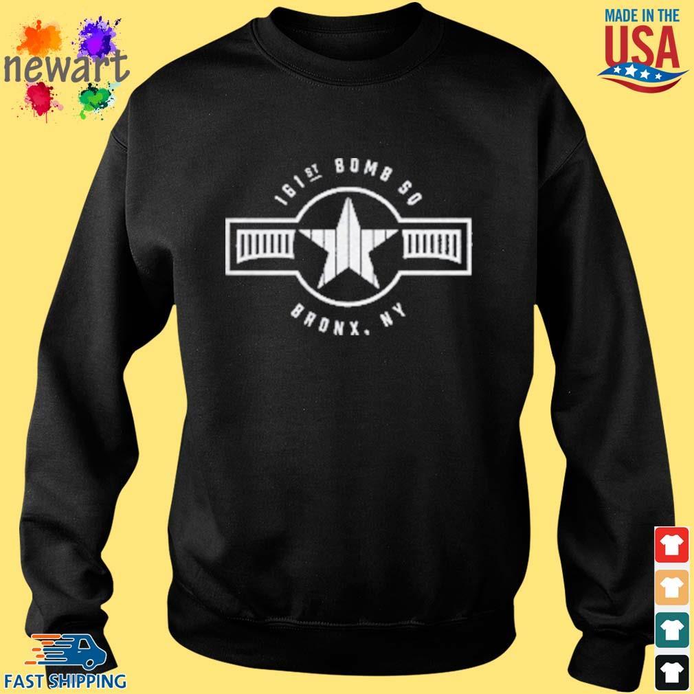 161st Bomb Squadron New York Bronx Baseball Shirt Sweater den