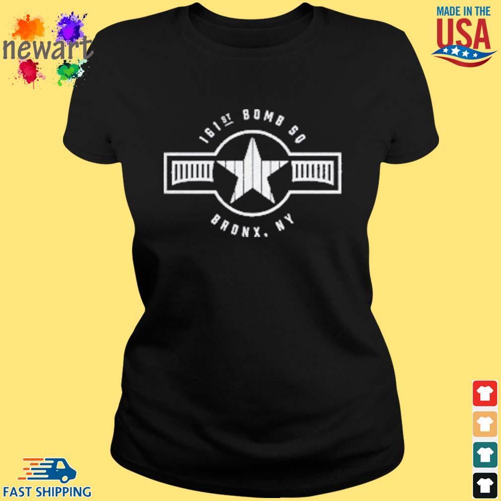 161st Bomb Squadron New York Bronx Baseball Shirt ladies den