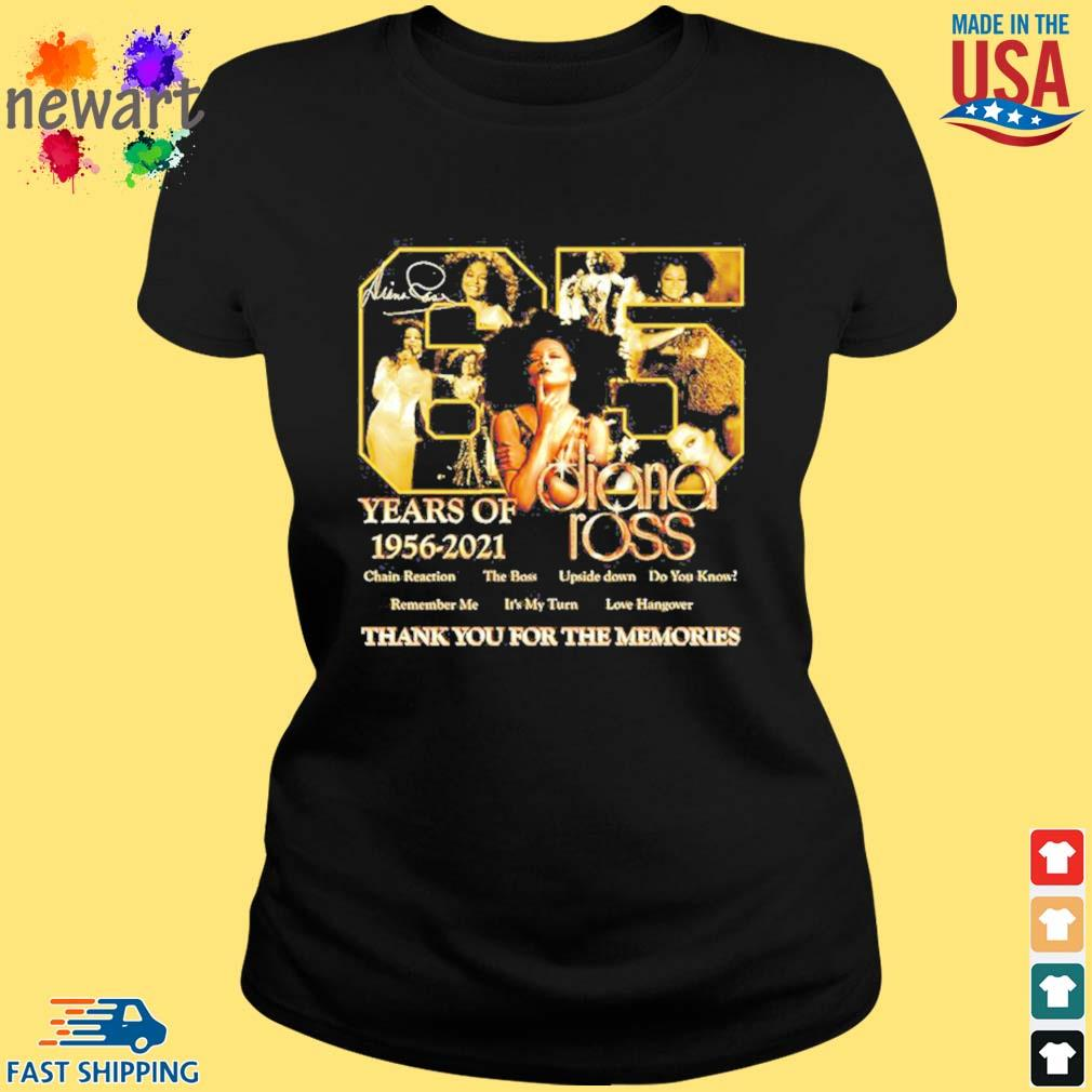 65 years of 1956 2021 Diana Ross thank you for the memories s ladies den