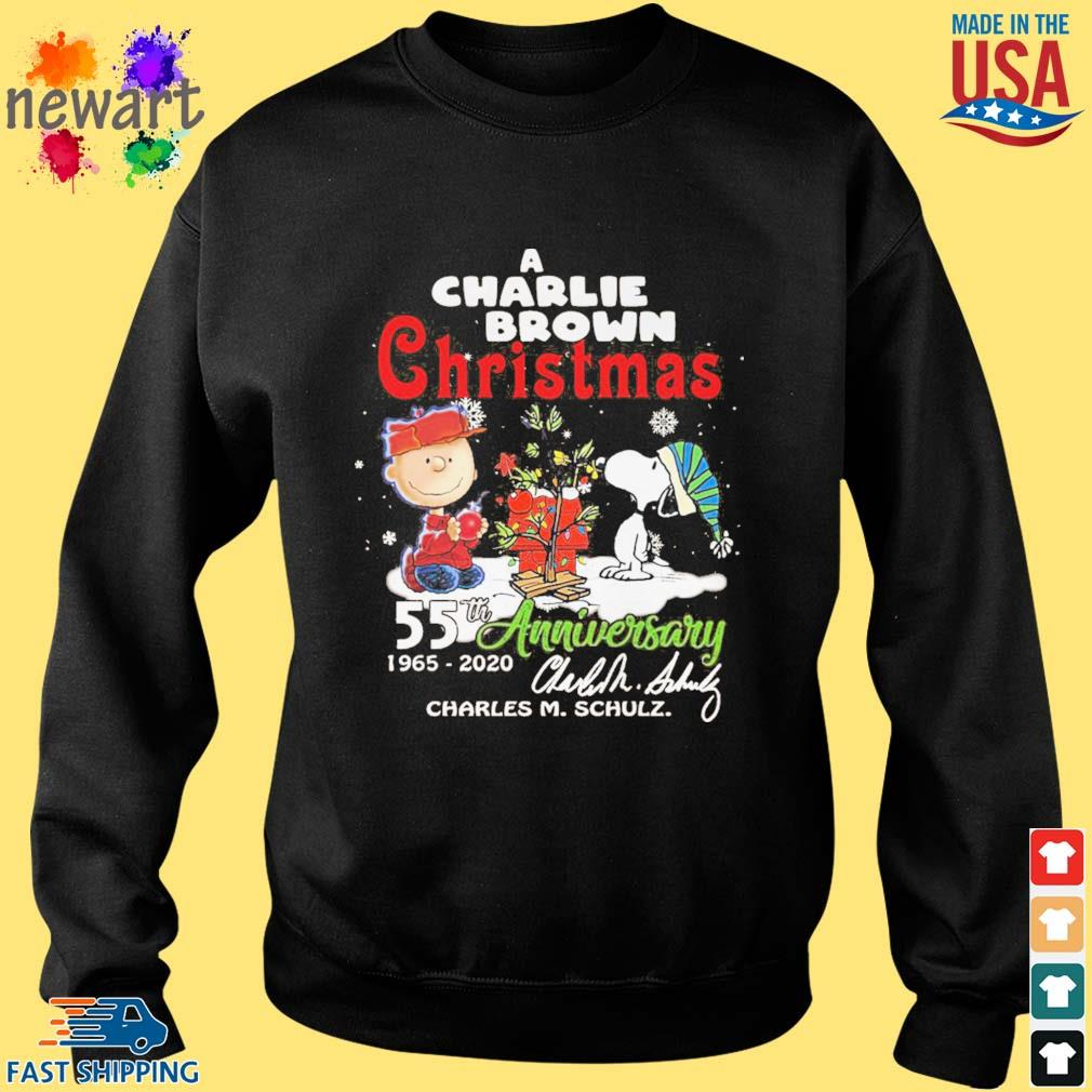 A Charlie Brown Christmas 55th anniversary 1965-2020 signature s Sweater den