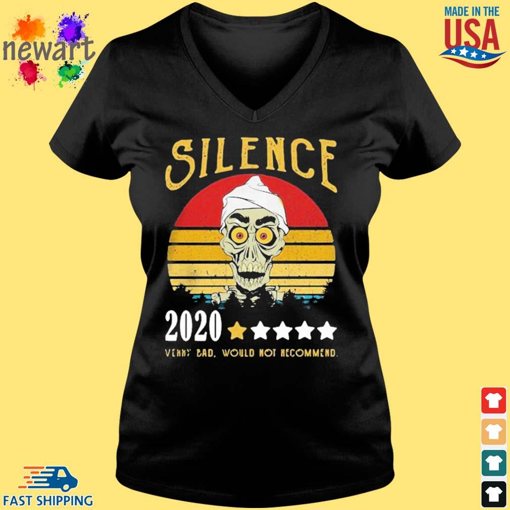 Achmed Silence 2020 Very Bad Would Not Recommend Vintage Shirt Vneck den
