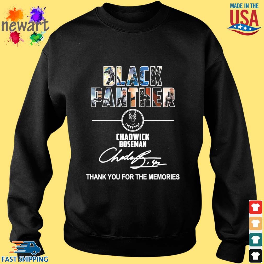 Black Panther Chadwick boseman thank you for the memories signature s Sweater den