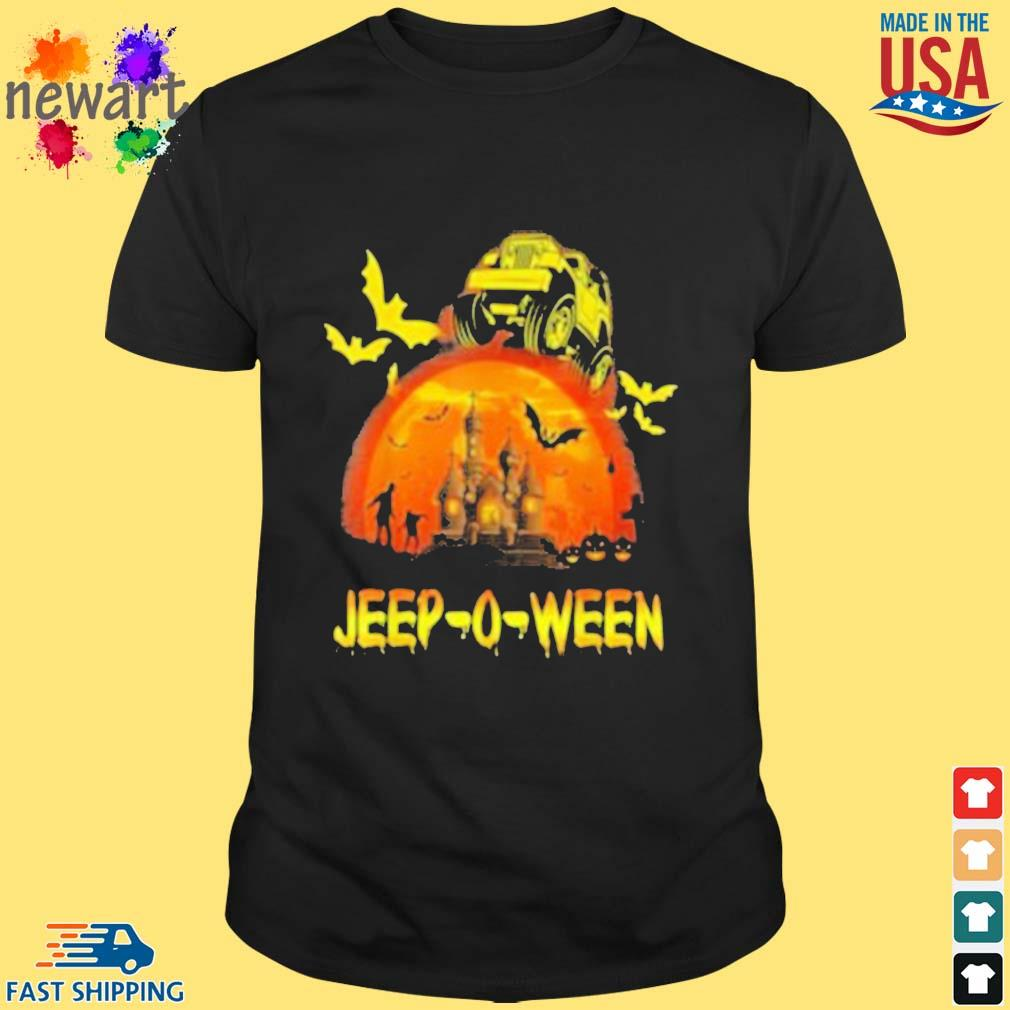 Jeep-o-ween Jeep Halloween Distressed Halloween 2020 Shirt