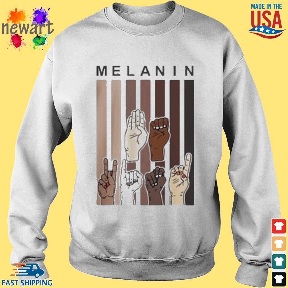 Melanin Hands s Sweater trang