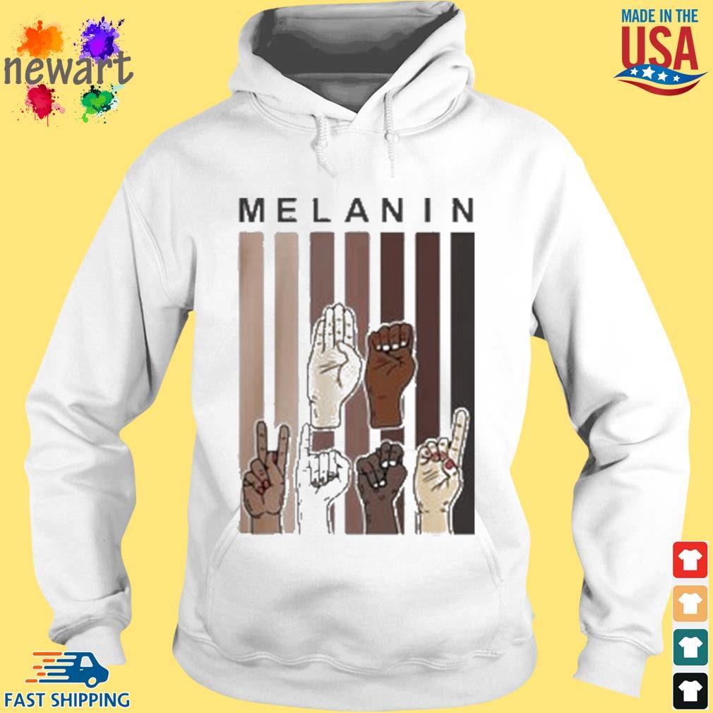 Melanin Hands s hoodie trang