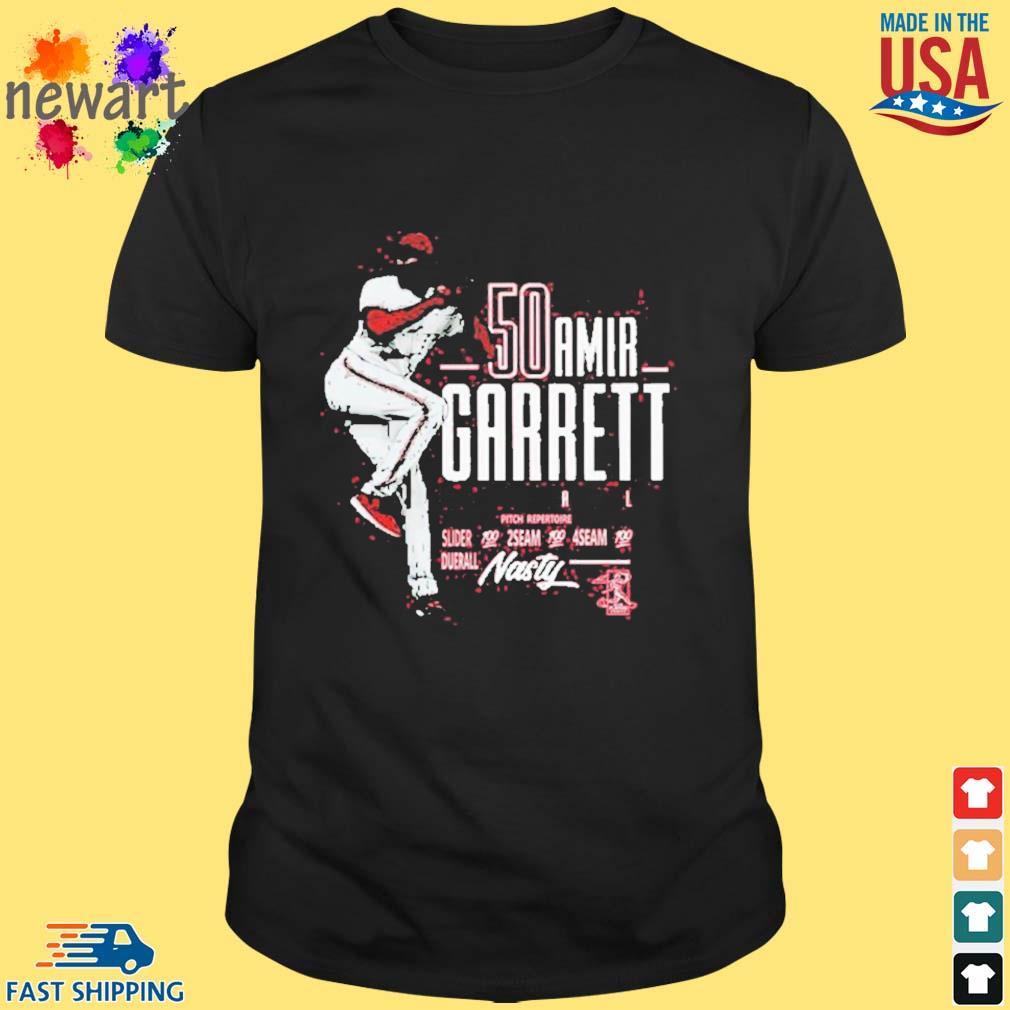 Official Amir Garrett Mlbpa Tee Shirt