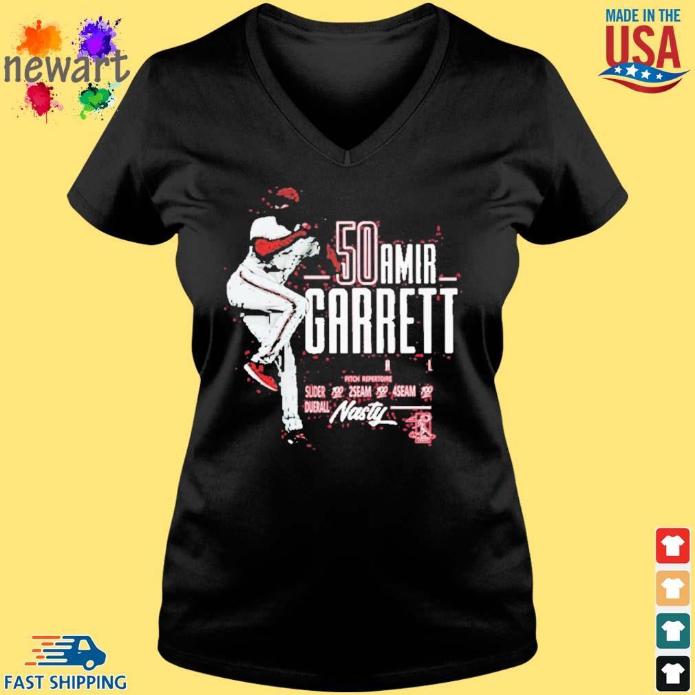 Official Amir Garrett Mlbpa Tee Shirt Vneck den