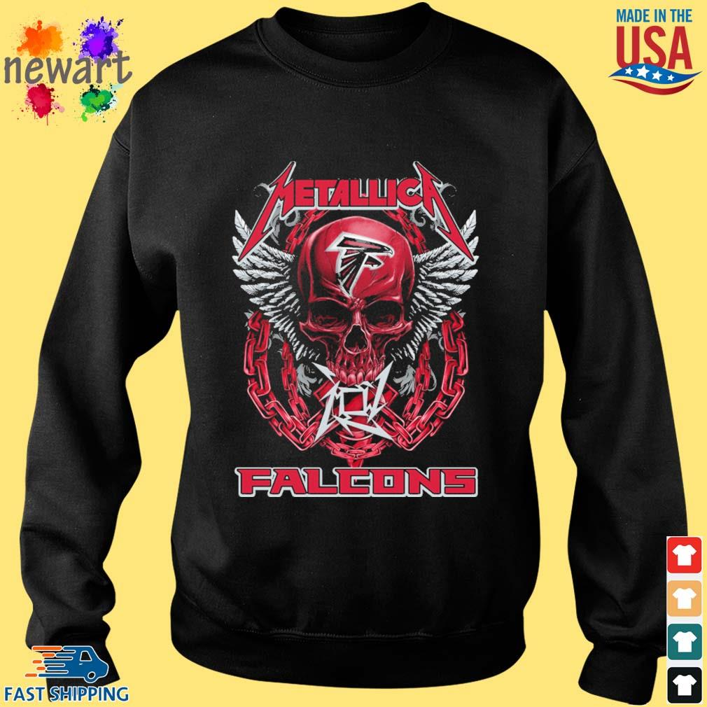 Skull metallica Atlanta Falcons logo s Sweater den