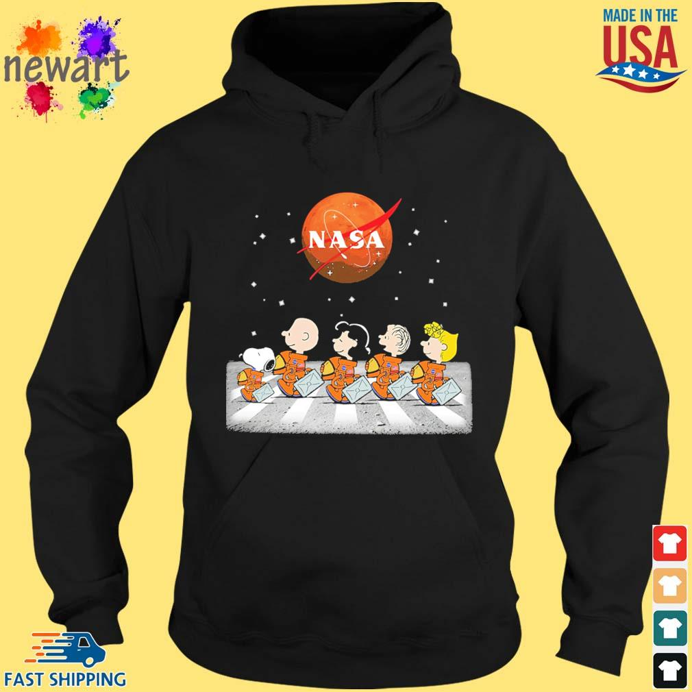 The Peanuts Abbey Road Nasa s hoodie den