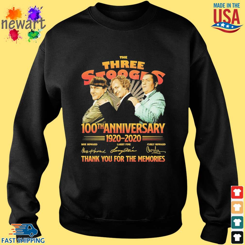 The three stooges 100th anniversary 1920-2020 thank you for the memories s Sweater den