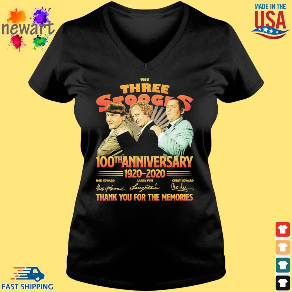 The three stooges 100th anniversary 1920-2020 thank you for the memories s Vneck den