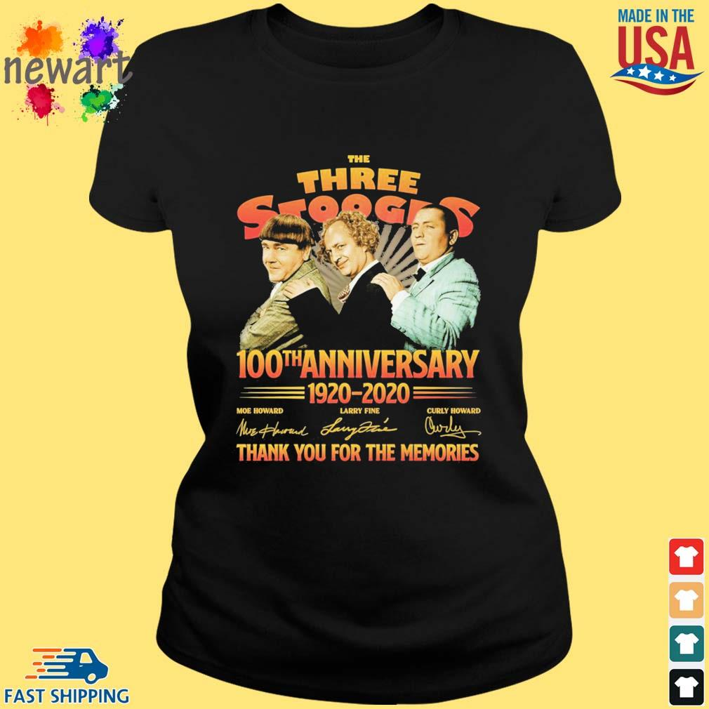 The three stooges 100th anniversary 1920-2020 thank you for the memories s ladies den