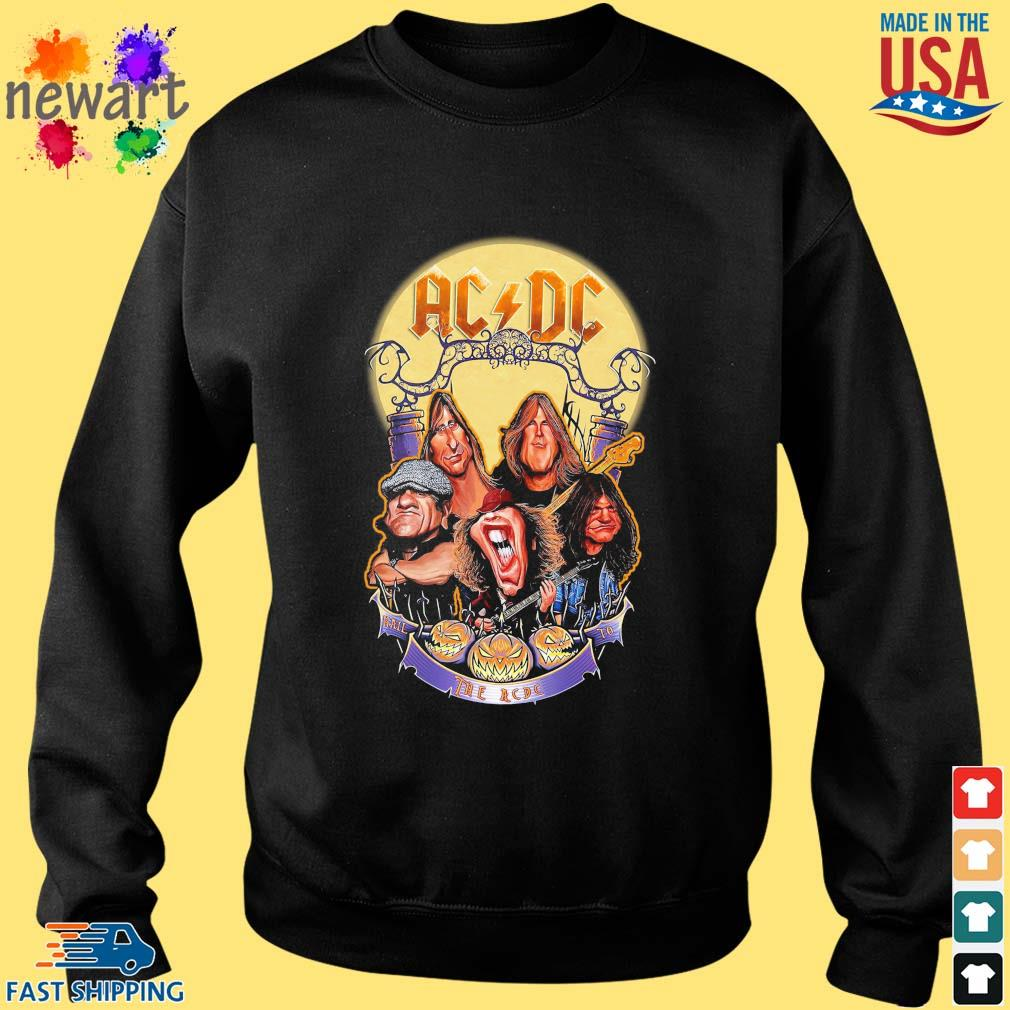 AC DC Heavy Metal Music Band band hail the AC DC to Halloween s Sweater den