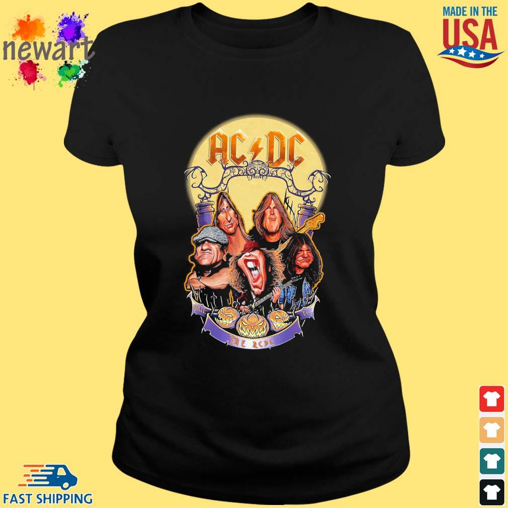AC DC Heavy Metal Music Band band hail the AC DC to Halloween s ladies den