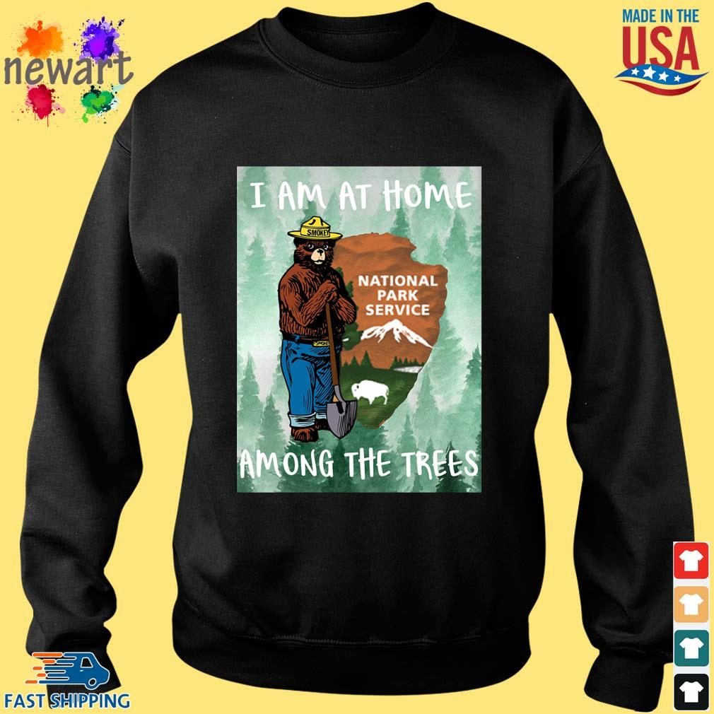 Bear I am at home national park service among the trees s Sweater den