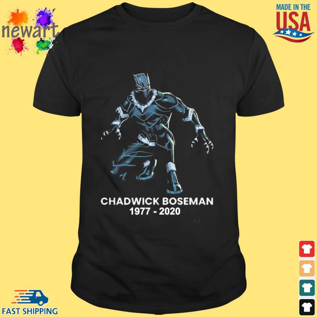 Black Panther Chadwick Boseman 1977-2020 shirts