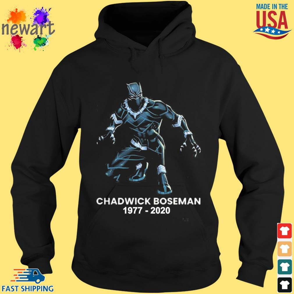 Black Panther Chadwick Boseman 1977-2020 shirts hoodie den
