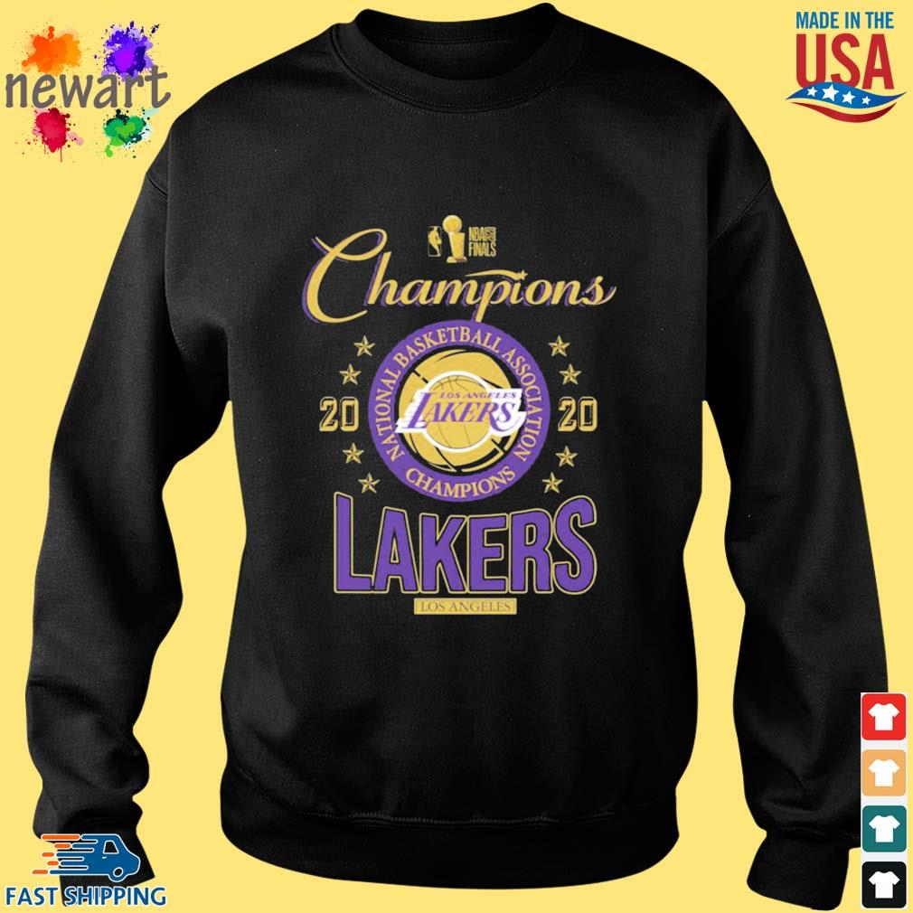 2020 Los Angeles Lakers national basketball association Champions s Sweater den