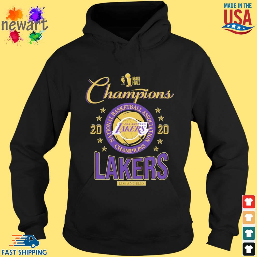 2020 Los Angeles Lakers national basketball association Champions s hoodie den
