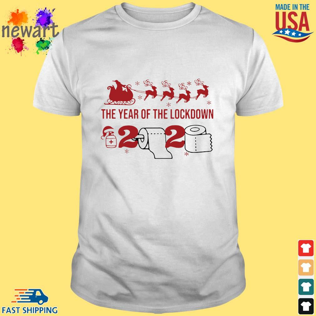2020 toilet paper the year of the lockdown Christmas sweatshirt