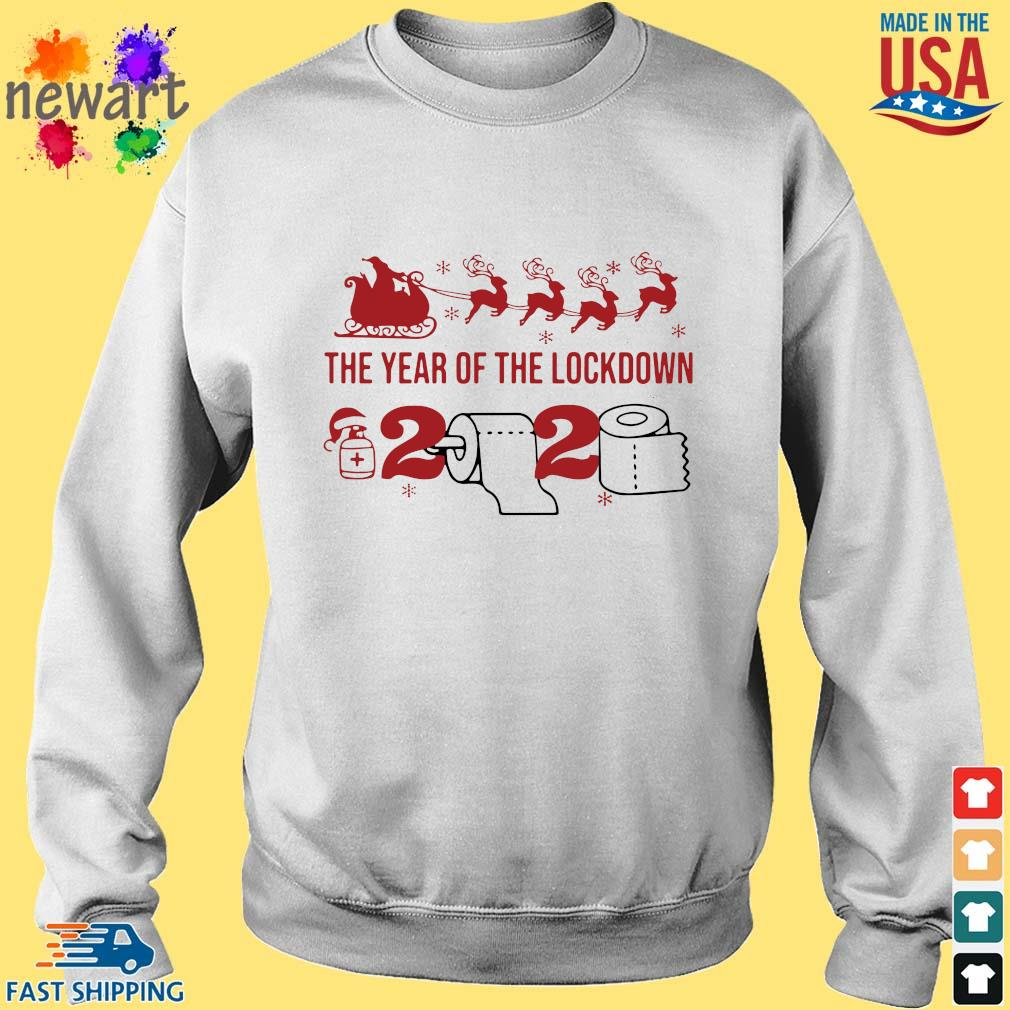 2020 toilet paper the year of the lockdown Christmas sweats Sweater trang